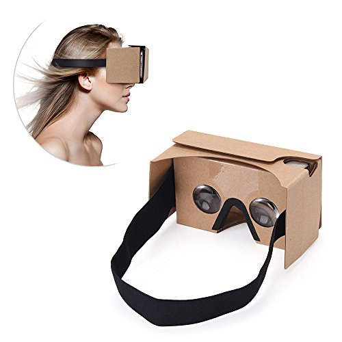 Gafas realidad virtual Google card