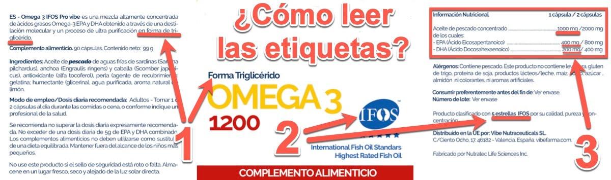 comprar cápsulas de omega-3 DHA+EPA